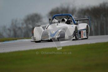 © Octane Photographic Ltd. Donington Park - General Test - 19th April 2012. David Rogers, Radical SR3RS. Digital ref : 0297lw1d0147