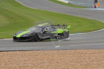 © Octane Photographic Ltd. Donington Park - General Test - 19th April 2012. Derek Johnston, Graypaul Racing, Ferrari 458 Challenge. Digital ref : 0297lw7d5688
