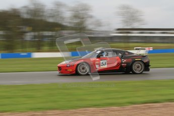 © Octane Photographic Ltd. Donington Park - General Test - 19th April 2012. Lotus Evora, Richard Adams/David Green/Martin Byford, Britcar MSA Endurance Championship. Digital ref : 0297lw7d5833