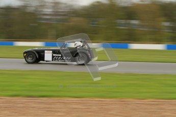 © Octane Photographic Ltd. Donington Park - General Test - 19th April 2012. Geoff Tubb, Caterham 7, Book-a-track. Digital ref : 027LW7D5888
