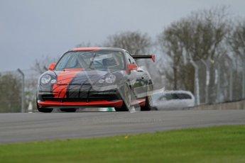 © Octane Photographic Ltd. Donington Park un-silenced general test day, 26th April 2012. Chris Bentley - British GT Cup - Porsche 996 GT3. Digital Ref : 0301lw7d8709