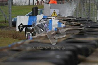 © Octane Photographic Ltd. Donington Park un-silenced general test day, 26th April 2012. Performance Direct Radical Clubman's Cup - Supersports, Jennifer Ridgway. Digital Ref : 0301lw7d9480