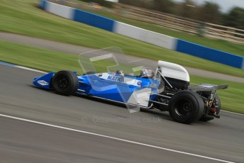 © Octane Photographic Ltd. Donington Park un-silenced general test day, 26th April 2012. Matra MS120 - Historic F1 Championship - Rob Hall. Digital Ref : 0301lw7d0255