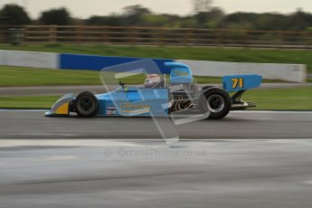 © Octane Photographic Ltd. Donington Park un-silenced general test day, 26th April 2012. Simon Taylor, Ex-Derek Bell Chevron B24 F5000Digital Ref : 0301lw7d7661
