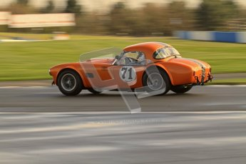 © Octane Photographic Ltd. Donington Park un-silenced general test day, 26th April 2012. Ingram/Chiles/Chiles Jr, AC Cobra. Digital Ref : 0301lw7d7831