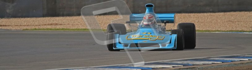 © Octane Photographic Ltd. Donington Park un-silenced general test day, 26th April 2012. Simon Taylor, Ex-Derek Bell Chevron B24 F5000Digital Ref : 0301lw7d8174