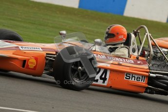© Octane Photographic Ltd. Donington Park un-silenced general test day, 26th April 2012. Cengiz Artam, March 701, Historic F1. Digital Ref : 0301lw7d9644