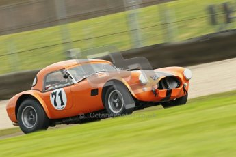 © Octane Photographic Ltd. Donington Park un-silenced general test day, 26th April 2012. Ingram/Chiles/Chiles Jr, AC Cobra. Digital Ref : 0301cb1d3057