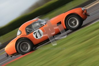 © Octane Photographic Ltd. Donington Park un-silenced general test day, 26th April 2012. Ingram/Chiles/Chiles Jr, AC Cobra. Digital Ref : 0301cb7d7872