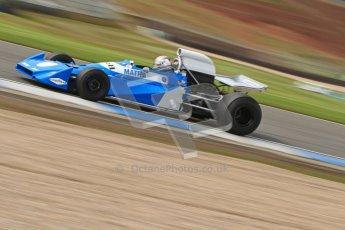 © Octane Photographic Ltd. Donington Park un-silenced general test day, 26th April 2012. Matra MS120 - Historic F1 Championship - Rob Hall. Digital Ref : 0301cb7d8190