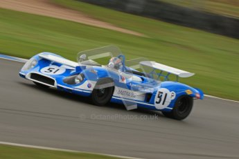 © Octane Photographic Ltd. Donington Park un-silenced general test day, 26th April 2012. Matra 650 - Rob Hall. Digital Ref : 0301cb7d8288