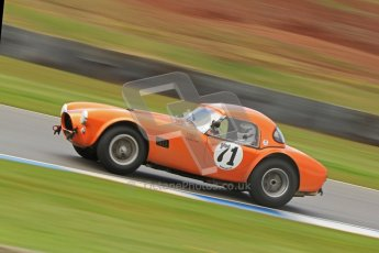 © Octane Photographic Ltd. Donington Park un-silenced general test day, 26th April 2012. Ingram/Chiles/Chiles Jr, AC Cobra. Digital Ref : 0301cb7d8360