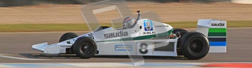 © Octane Photographic Ltd. Donington Park un-silenced general testing. Thursday 29th March 2012. Williams FW06, Historic F1. Digital Ref : 0261cb7d4046