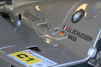 © Octane Photographic Ltd. Donington Park un-silenced general testing. Thursday 29th March 2012. Sauber C9 - Gareth Evans. Digital Ref : 0261cb7d4232
