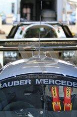 © Octane Photographic Ltd. Donington Park un-silenced general testing. Thursday 29th March 2012. Sauber C9 - Gareth Evans and Sauber C11 - Bob Berridge. Digital Ref : 0261cb7d4247