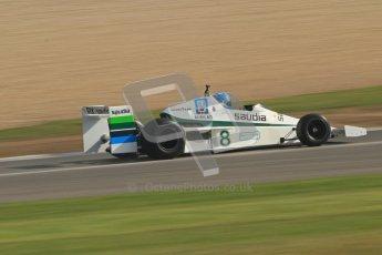 © Octane Photographic Ltd. Donington Park un-silenced general testing. Thursday 29th March 2012. Williams FW06, Historic F1. Digital Ref : 0261cb7d4757