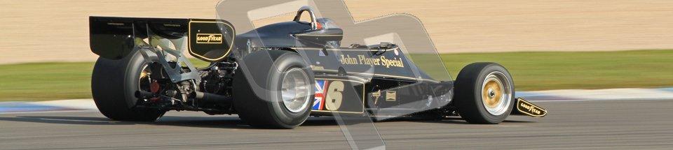 © Octane Photographic Ltd. Donington Park un-silenced general testing. Thursday 29th March 2012. Lotus 77 - Rob Hall, Historic F1. Digital Ref : 0261cb7d4855