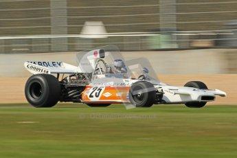 © Octane Photographic Ltd. Donington Park un-silenced general testing. Thursday 29th March 2012. McLaren M19, Historic F1. Digital Ref : 0261cb7d4942
