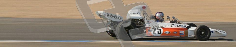 © Octane Photographic Ltd. Donington Park un-silenced general testing. Thursday 29th March 2012, McLaren M19 , Historic F1. Digital Ref : 0261cb7d5046