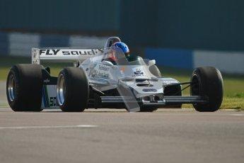 © Octane Photographic Ltd. Donington Park un-silenced general testing. Thursday 29th March 2012. Ex-Keke Rosberg Williams FW08, Historic F1. Digital Ref : 0261cb7d5376