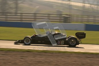 © Octane Photographic Ltd. Donington Park un-silenced general testing. Thursday 29th March 2012. Lotus 77 - Rob Hall Lotus 77 - Rob Hall, Historic F1. Digital Ref : 0261lw7d3873