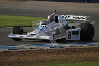 © Octane Photographic Ltd. Donington Park un-silenced general testing. Thursday 29th March 2012. Williams FW06 - Rob Hall, Historic F1. Digital Ref : 0261lw7d4054