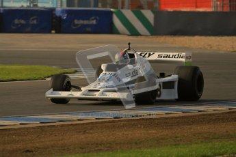 © Octane Photographic Ltd. Donington Park un-silenced general testing. Thursday 29th March 2012. Williams FW06 - Rob Hall, Historic F1. Digital Ref : 0261lw7d4165