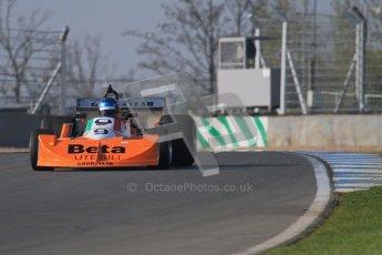 © Octane Photographic Ltd. Donington Park un-silenced general testing. Thursday 29th March 2012, March Historic F1. Digital Ref : 0261lw7d4407