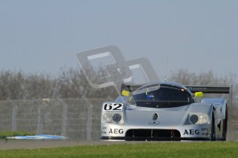 © Octane Photographic Ltd. Donington Park un-silenced general testing. Thursday 29th March 2012. Sauber C9 - Gareth Evans. Digital Ref : 0261lw7d4778