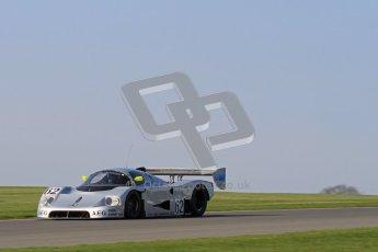 © Octane Photographic Ltd. Donington Park un-silenced general testing. Thursday 29th March 2012. Sauber C9 - Gareth Evans. Digital Ref : 0261lw7d4812