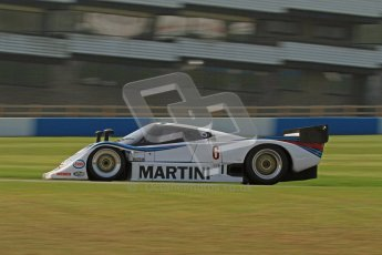 © Octane Photographic Ltd. Donington Park un-silenced general testing. Thursday 29th March 2012. Lancia LC2 - Rupert Clevely. Digital Ref : 0261lw7d5245