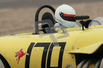 © Octane Photographic Ltd. Donington Park testing, May 3rd 2012. Ex-Carroll Shelby/Dan Gurney Old Yeller Mk.II, Sean McLung. . Digital Ref : 0313cb1d6889