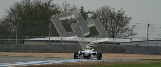 © Octane Photographic Ltd. Donington Park testing, May 3rd 2012. David Wagner - Formula Renault BARC. Digital Ref : 0313lw7d5643