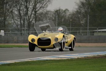 © Octane Photographic Ltd. Donington Park testing, May 3rd 2012. Ex-Carroll Shelby/Dan Gurney Old Yeller Mk.II, Sean McLung. . Digital Ref : 0313lw7d5775