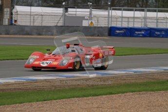 © Octane Photographic Ltd. Donington Park testing, May 3rd 2012. Ex-Ickx/Giunti Ferrari 512M. Digital Ref : 0313lw7d6358