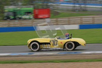 "© Octane Photographic Ltd. Donington Park testing, May 3rd 2012. Ex-Carroll Shelby/Dan Gurney Old Yeller Mk.II - Merlin ""Scooter"" Patrick. Digital Ref : 0313lw7d6716"