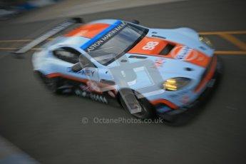 © Octane Photographic Ltd. 2012. Donington Park - General Test Day. Thursday 16th August 2012. FIA WEC. Aston Martin Vantage GTE. Digital Ref : 0458cb1d0148