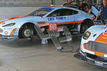 © Octane Photographic Ltd. 2012. Donington Park - General Test Day. Thursday 16th August 2012. FIA WEC. Aston Martin Vantage GTE. Digital Ref : 0458cb1d0393
