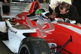 © Octane Photographic Ltd. 2012. Donington Park - General Test Day. Thursday 16th August 2012. Formula Renault BARC. Kieran Vernon - Hillspeed. Digital Ref : 0458cb1d0046