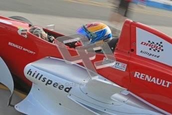 © Octane Photographic Ltd. 2012. Donington Park - General Test Day. Thursday 16th August 2012. Formula Renault BARC. Jacob Nortoft - Hillspeed. Digital Ref : 0458cb1d0064