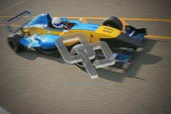© Octane Photographic Ltd. 2012. Donington Park - General Test Day. Thursday 16th August 2012. Formula Renault BARC. Oliver Sirrell - ACS Motorsport. Digital Ref : 0458cb1d0151