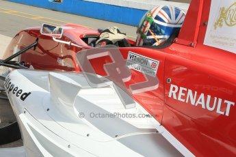 © Octane Photographic Ltd. 2012. Donington Park - General Test Day. Thursday 16th August 2012. Formula Renault BARC. Kieran Vernon - Hillspeed. Digital Ref : 0458cb1d0159