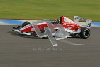 © Octane Photographic Ltd. 2012. Donington Park - General Test Day. Thursday 16th August 2012. Formula Renault BARC. Kieran Vernon - Hillspeed. Digital Ref : 0458cb1d019o