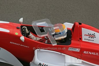 © Octane Photographic Ltd. 2012. Donington Park - General Test Day. Thursday 16th August 2012. Formula Renault BARC. Jacob Nortoft - Hillspeed. Digital Ref : 0458cb1d0245