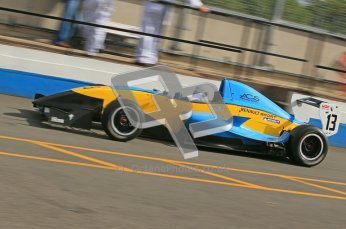 © Octane Photographic Ltd. 2012. Donington Park - General Test Day. Thursday 16th August 2012. Formula Renault BARC. Oliver Sirrell - ACS Motorsport. Digital Ref : 0458cb1d0368