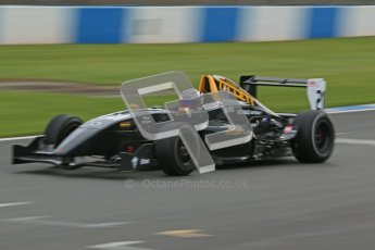 © Octane Photographic Ltd. 2012. Donington Park - General Test Day. Thursday 16th August 2012. Formula Renault BARC. Laura Tillett - Fortec Motorsports. Digital Ref : 0458cb1d0573