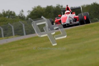 © Octane Photographic Ltd. 2012. Donington Park - General Test Day. Thursday 16th August 2012. Formula Renault BARC. Martin Cao - Fortec Motorsports. Digital Ref : 0458ce1d0668