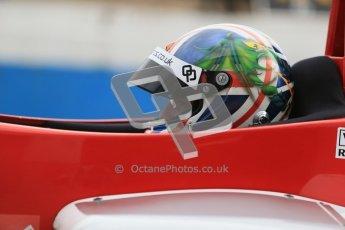 © Octane Photographic Ltd. 2012. Donington Park - General Test Day. Thursday 16th August 2012. Formula Renault BARC. Kieran Vernon - Hillspeed. Digital Ref : 0458cb1d0802