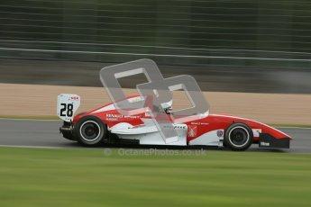 © Octane Photographic Ltd. 2012. Donington Park - General Test Day. Thursday 16th August 2012. Formula Renault BARC. Kieran Vernon - Hillspeed. Digital Ref : 0458cb1d0842