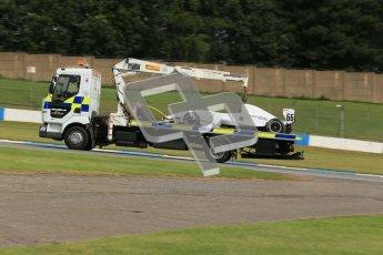 © Octane Photographic Ltd. 2012. Donington Park - General Test Day. Thursday 16th August 2012. Formula Renault BARC. James Fletcher - MGR Motorsport. Digital Ref : 0458cb1d0954